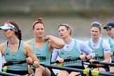 The Boat Race season 2018 - Women's Boat Race Trial Eights (CUWBC, Cambridge): Expecto Patronu, here 6 Thea Zabell, 5 Kelsey Barolak, 4 Laura Foster, 3 Sally O Brien, 2 Millie Perrin. River Thames between Putney Bridge and Mortlake, London SW15,  United Kingdom, on 05 December 2017 at 12:38, image #44