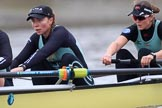 The Boat Race season 2018 - Women's Boat Race Trial Eights (CUWBC, Cambridge): Wingardium Leviosa, here 6 -Larkin Sayre, 5 Tricia Smith. River Thames between Putney Bridge and Mortlake, London SW15,  United Kingdom, on 05 December 2017 at 12:45, image #74