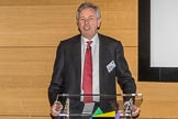 The Boat Race season 2017 - Crew Announcement and Weigh-In: Robert Gillespie, Chairman of The Boat Race Company, thanking all the Boat Races sponsors for their support.. The Francis Crick Institute, London NW1,  United Kingdom, on 14 March 2017 at 11:13, image #5
