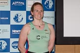 The Boat Race season 2017 - Crew Announcement and Weigh-In: Ashton Brown (Fitzwilliam) studies for a PhD in Education. She is the Cuwbc President, 2017 is her third Boat Race. The Francis Crick Institute, London NW1,  United Kingdom, on 14 March 2017 at 11:24, image #14