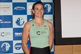 The Boat Race season 2017 - Crew Announcement and Weigh-In: New Zealander Anna Dawson (Newnham) studies for an MPhil in Education. The Francis Crick Institute, London NW1,  United Kingdom, on 14 March 2017 at 11:26, image #33