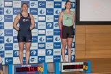 The Boat Race season 2017 - Crew Announcement and Weigh-In: In the 7 seat Emily Cameron (OUWBC) and Myriam Goudet (CUWBC). The Francis Crick Institute, London NW1,  United Kingdom, on 14 March 2017 at 11:29, image #47