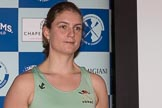 The Boat Race season 2017 - Crew Announcement and Weigh-In: French Myriam Goudet (Lucy Cavendish), PHD. The Francis Crick Institute, London NW1,  United Kingdom, on 14 March 2017 at 11:29, image #51