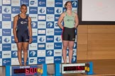 The Boat Race season 2017 - Crew Announcement and Weigh-In: Stroke Jenna Hebert (OUWBC) and Melissa Wilson (CUWBC). The Francis Crick Institute, London NW1,  United Kingdom, on 14 March 2017 at 11:29, image #53
