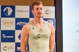 The Boat Race season 2017 - Crew Announcement and Weigh-In: James Letten (CUBC). The Francis Crick Institute, London NW1,  United Kingdom, on 14 March 2017 at 11:36, image #87