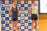 The Boat Race season 2017 - Crew Announcement and Weigh-In: In the 4 seat Joshua Bugaski (OUBC) and Tim Tracey (CUBC). The Francis Crick Institute, London NW1,  United Kingdom, on 14 March 2017 at 11:37, image #89
