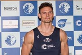 The Boat Race season 2017 - Crew Announcement and Weigh-In: Joshua Bugaski (OUBC). The Francis Crick Institute, London NW1,  United Kingdom, on 14 March 2017 at 11:37, image #90