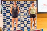 The Boat Race season 2017 - Crew Announcement and Weigh-In: In the 5 seat Olivier Siegelaar (OUBC) and Aleksander Malowany (CUBC). The Francis Crick Institute, London NW1,  United Kingdom, on 14 March 2017 at 11:38, image #93
