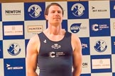 The Boat Race season 2017 - Crew Announcement and Weigh-In: Olivier Siegelaar (OUBC). The Francis Crick Institute, London NW1,  United Kingdom, on 14 March 2017 at 11:38, image #94
