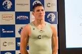 The Boat Race season 2017 - Crew Announcement and Weigh-In: Aleksander Malowany (CUBC). The Francis Crick Institute, London NW1,  United Kingdom, on 14 March 2017 at 11:38, image #95