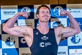 The Boat Race season 2017 - Crew Announcement and Weigh-In: Michael DiSanto (OUBC). The Francis Crick Institute, London NW1,  United Kingdom, on 14 March 2017 at 11:38, image #96
