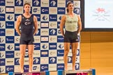 The Boat Race season 2017 - Crew Announcement and Weigh-In: In the 7 seat James Cook (OUBC) and Lance Tredell (CUBC). The Francis Crick Institute, London NW1,  United Kingdom, on 14 March 2017 at 11:40, image #102