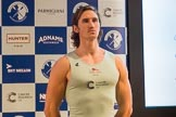 The Boat Race season 2017 - Crew Announcement and Weigh-In: Lance Tredell CUBC). The Francis Crick Institute, London NW1,  United Kingdom, on 14 March 2017 at 11:40, image #104