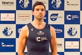 The Boat Race season 2017 - Crew Announcement and Weigh-In: Vassilis Ragoussis (OUBC). The Francis Crick Institute, London NW1,  United Kingdom, on 14 March 2017 at 11:41, image #108