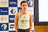 The Boat Race season 2017 - Crew Announcement and Weigh-In: Hugo Ramambason (CUBC). The Francis Crick Institute, London NW1,  United Kingdom, on 14 March 2017 at 11:42, image #113
