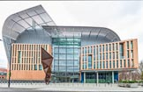 The Boat Race season 2017 - Crew Announcement and Weigh-In: The Francis Crick Institute, world leading centre for biomedical research, and the venue for the 2017 Crew Announcement. The Francis Crick Institute, London NW1,  United Kingdom, on 14 March 2017 at 10:00, image #1