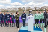 The Boat Race season 2017 -  The Cancer Research Women's Boat Race. River Thames between Putney Bridge and Mortlake, London SW15,  United Kingdom, on 02 April 2017 at 14:39, image #19