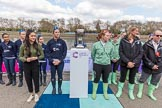 The Boat Race season 2017 -  The Cancer Research Women's Boat Race. River Thames between Putney Bridge and Mortlake, London SW15,  United Kingdom, on 02 April 2017 at 14:41, image #26