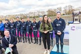 The Boat Race season 2017 -  The Cancer Research Women's Boat Race. River Thames between Putney Bridge and Mortlake, London SW15,  United Kingdom, on 02 April 2017 at 14:43, image #30