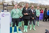 The Boat Race season 2017 -  The Cancer Research Women's Boat Race. River Thames between Putney Bridge and Mortlake, London SW15,  United Kingdom, on 02 April 2017 at 14:43, image #31