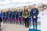 The Boat Race season 2017 -  The Cancer Research Women's Boat Race. River Thames between Putney Bridge and Mortlake, London SW15,  United Kingdom, on 02 April 2017 at 14:43, image #32