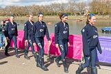 The Boat Race season 2017 -  The Cancer Research Women's Boat Race. River Thames between Putney Bridge and Mortlake, London SW15,  United Kingdom, on 02 April 2017 at 14:58, image #33