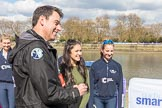The Boat Race season 2017 -  The Cancer Research Women's Boat Race. River Thames between Putney Bridge and Mortlake, London SW15,  United Kingdom, on 02 April 2017 at 15:00, image #40