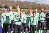 The Boat Race season 2017 -  The Cancer Research Women's Boat Race. River Thames between Putney Bridge and Mortlake, London SW15,  United Kingdom, on 02 April 2017 at 15:00, image #42