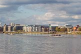 The Boat Race season 2017 -  The Cancer Research Women's Boat Race: Cambridge several length in front of Oxford at Palace Wharf. River Thames between Putney Bridge and Mortlake, London SW15,  United Kingdom, on 02 April 2017 at 16:38, image #143