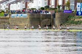 The Boat Race season 2017 -  The Cancer Research Women's Boat Race: CUWBC after having won the race at Chiswicl Quay Marina. River Thames between Putney Bridge and Mortlake, London SW15,  United Kingdom, on 02 April 2017 at 16:57, image #192