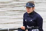 "The Boat Race season 2018 - Women's Boat Race Trial Eights (OUWBC, Oxford): Close-up of ""Coursing River"" 2 seat Rachel Anderson. River Thames between Putney Bridge and Mortlake, London SW15,  United Kingdom, on 21 January 2018 at 13:48, image #9"