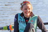 The Women's Boat Race season 2018 - fixture CUWBC vs. ULBC: OUWBC 3 seat Alice White. River Thames between Putney Bridge and Mortlake, London SW15,  United Kingdom, on 17 February 2018 at 12:30, image #5