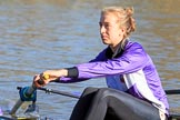 The Women's Boat Race season 2018 - fixture CUWBC vs. ULBC: ULBC 6 seat Oonagh Cousins. River Thames between Putney Bridge and Mortlake, London SW15,  United Kingdom, on 17 February 2018 at 12:34, image #21