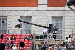Trooping the Colour 2009: One of the many television cameras on a press stand in fron of the Old Admirality Building. Image #2, 13 June 2009 09:23 Horse Guards Parade, London, UK