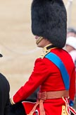 The Colonel's Review 2011: Close-up of HRH Prince William, The Duke of Cambridge, during the Inspection of the Line.. Horse Guards Parade, Westminster, London SW1,  United Kingdom, on 04 June 2011 at 11:09, image #109
