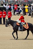 The Colonel's Review 2011: The Silver Stick Adjutant, Lieutenant Colonel H S J Scott, The Life Guards.. Horse Guards Parade, Westminster, London SW1,  United Kingdom, on 04 June 2011 at 11:52, image #229