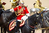 The Colonel's Review 2011: The Director of Music of the Mounted Bands of the Household Cavalry, Major K L Davies, The Life Guards.. Horse Guards Parade, Westminster, London SW1,  United Kingdom, on 04 June 2011 at 11:53, image #237