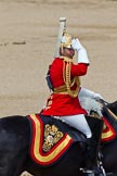 The Colonel's Review 2011: The Director of Music for the Mounted Bands of the Household Cavalry, Major K L Davies, The Life Guards.. Horse Guards Parade, Westminster, London SW1,  United Kingdom, on 04 June 2011 at 11:58, image #262