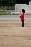 The Major General's Review 2011: A Keeper of the Ground, marking the Colour Point for No. 2 Guard, close to the Guards Memorial.. Horse Guards Parade, Westminster, London SW1, Greater London, United Kingdom, on 28 May 2011 at 10:22, image #31