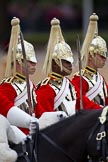 The Major General's Review 2011: Troopers of The Life Guards leading the Royal Procession.. Horse Guards Parade, Westminster, London SW1, Greater London, United Kingdom, on 28 May 2011 at 10:58, image #100