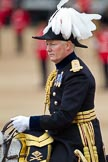 "The Major General's Review 2011: Major General William Cubitt CBE, the Major General Commanding the Household Division. The ""Major General's Review"" is his review.. Horse Guards Parade, Westminster, London SW1, Greater London, United Kingdom, on 28 May 2011 at 11:01, image #110"