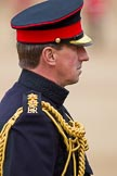 The Major General's Review 2011: Close-up of the Silver-Stick-in-Waiting, Colonel Stuart Cowen, The Blues and Royals.. Horse Guards Parade, Westminster, London SW1, Greater London, United Kingdom, on 28 May 2011 at 11:07, image #131