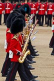 The Major General's Review 2011: Musicians of the Band of the Grenadier Guards.. Horse Guards Parade, Westminster, London SW1, Greater London, United Kingdom, on 28 May 2011 at 11:09, image #136