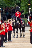 The Major General's Review 2011: Behind the Massed Bands the Major of the Parade, Major Benedict Peter Norman Ramsay, Welsh Guards.. Horse Guards Parade, Westminster, London SW1, Greater London, United Kingdom, on 28 May 2011 at 11:27, image #179