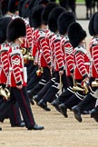 The Major General's Review 2011: Drummers of the Massed Bands marching.. Horse Guards Parade, Westminster, London SW1, Greater London, United Kingdom, on 28 May 2011 at 11:32, image #197