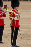 The Major General's Review 2011: Drum Major S Fitzgerald, Coldstream Guards, leading the Band of the Coldstream Guards.. Horse Guards Parade, Westminster, London SW1, Greater London, United Kingdom, on 28 May 2011 at 11:39, image #217