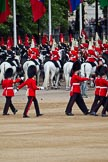 The Major General's Review 2011: Household Cavalry marching off, leaving Horse Guards Parade towards The Mall.. Horse Guards Parade, Westminster, London SW1, Greater London, United Kingdom, on 28 May 2011 at 12:02, image #268