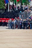 The Major General's Review 2011: March Off - the guards divisons leaving the parade ground, via Horse Guards Road, towards The Mall.. Horse Guards Parade, Westminster, London SW1, Greater London, United Kingdom, on 28 May 2011 at 12:11, image #288