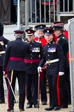 The Major General's Review 2011: After the rehearsal - officers of the Royal Army Medical Corps.. Horse Guards Parade, Westminster, London SW1, Greater London, United Kingdom, on 28 May 2011 at 12:12, image #289