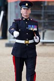 The Major General's Review 2011: Company Sergeant Major (?) of the Royal Logistic Corps after the rehearsal.. Horse Guards Parade, Westminster, London SW1, Greater London, United Kingdom, on 28 May 2011 at 12:13, image #290